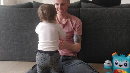 """De lockdown van voetballer Koen Weuts: """"Ik probeer nu te genieten van extra quality time met gezin"""""""