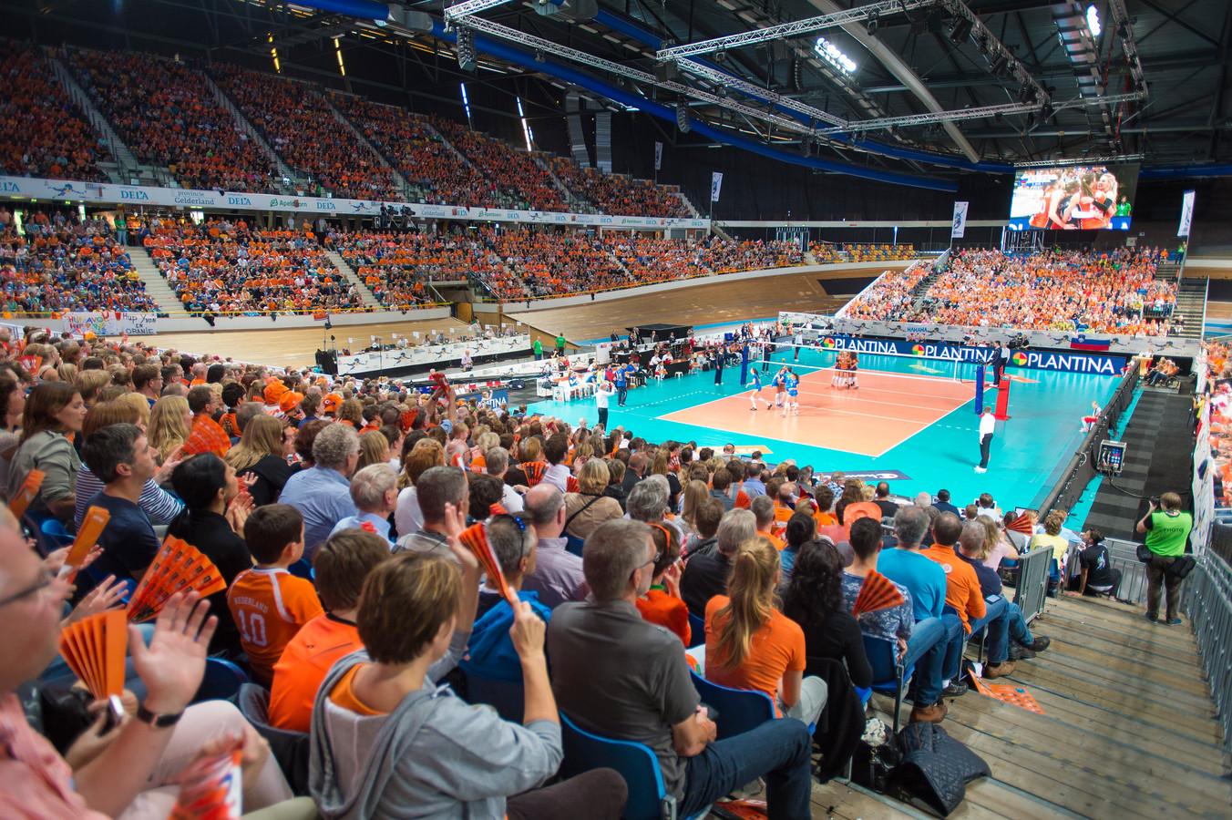 Omnisport zat bomvol tijdens het EK vrouwenvolleybal van 2015.