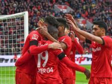 Bosz door derde zege op rij stevig in subtop met Leverkusen