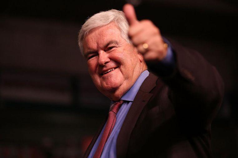 Newt Gingrich wordt getipt als minister van Buitenlandse Zaken Beeld anp