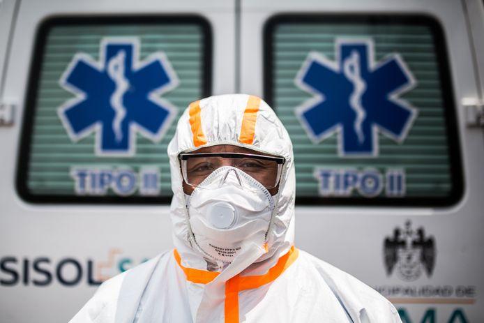 Ambulancier à Lima, Pérou