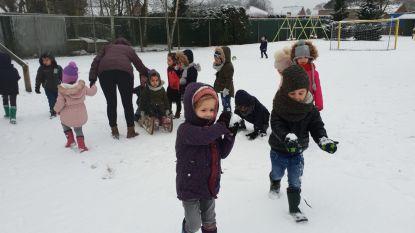 IN BEELD: Kleuters door het dolle heen, dan tóch weer sneeuw in Limburg