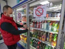Kettingsloten en muren van rolcontainers: alcohol achter slot en grendel