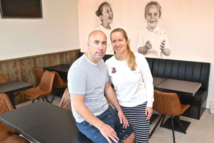 Kevin Caytan en Anne-Laure Haghedooren kunnen niet wachten om weer aan de slag te gaan, al is het dan enkel met een afhaalformule.
