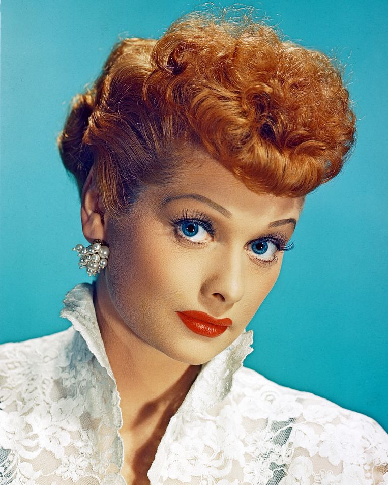 Lucille Ball. Beeld getty
