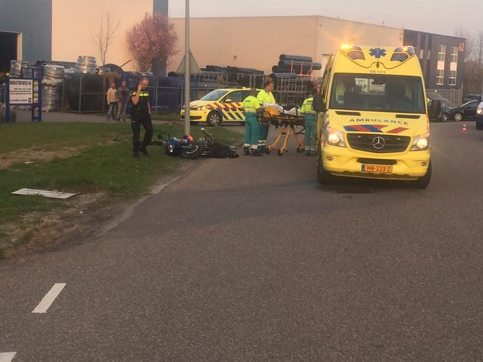 Motorrijder ernstig gewond bij eenzijdig ongeval Zeewolde.