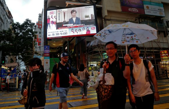 Archiefbeeld van Hongkong