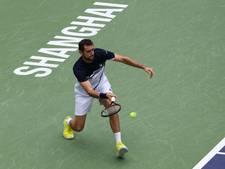Cilic treft Nadal in halve finale Sjanghai
