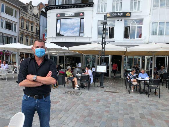 Erik Van Geirt van café Leffe en Stadscafé