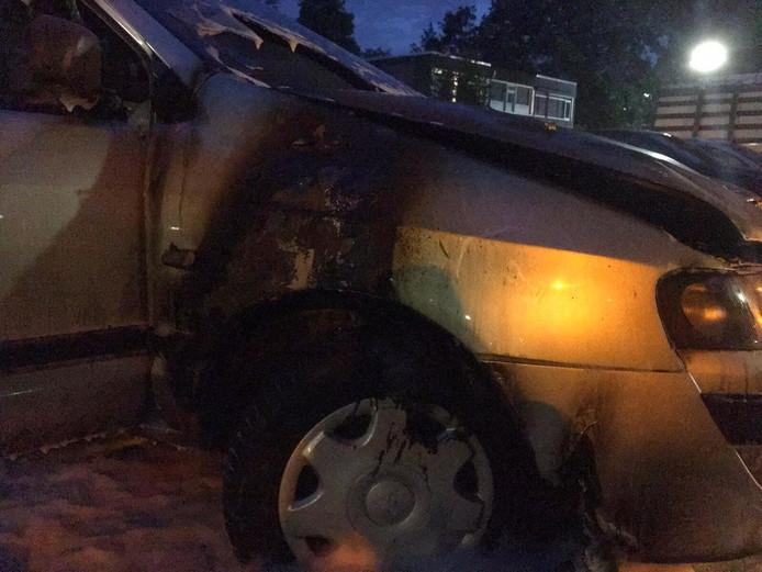 Autobrand in Geldrop