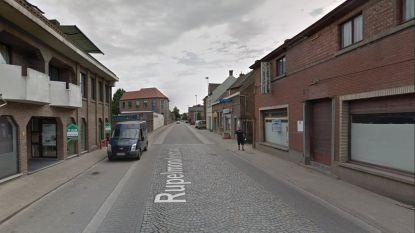 Rupelmondestraat onderbroken door werken aan riolering