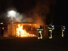 Brand in opslaghok bij scouting Mgr. Bekkersgroep in Kaatsheuvel