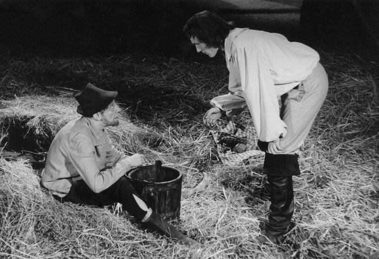 Jef Cassiers en Frank Aendenboom in 'Johan en de Alverman'