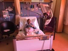 Sint komt óók bij Thijs in het Wilhelmina Kinderziekenhuis