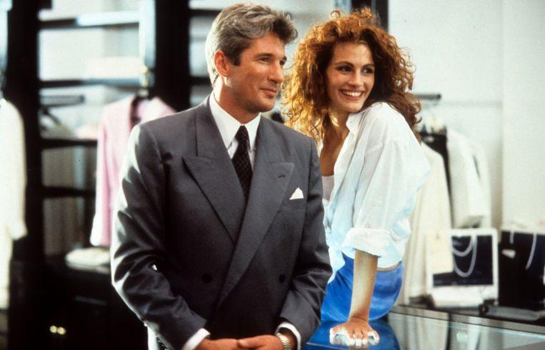 Richard Gere en Julia Roberts in 'Pretty Woman'