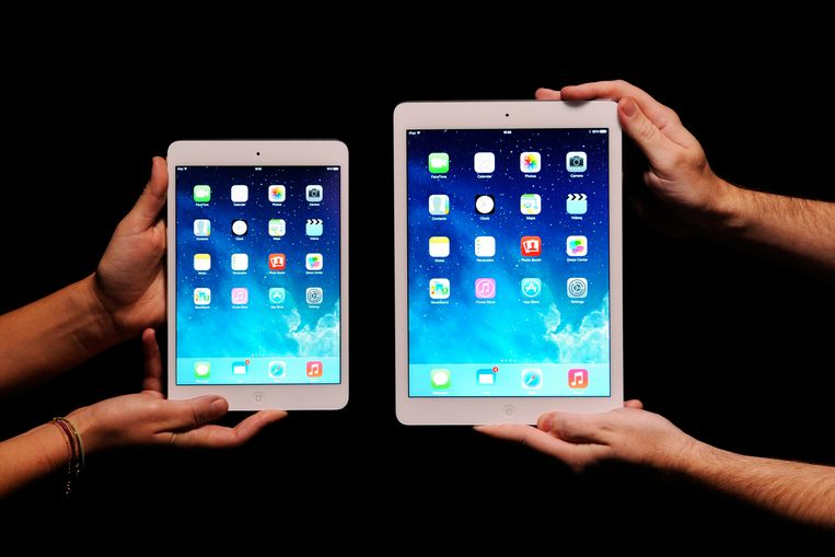 De nieuwe iPad Mini en de iPad Air.