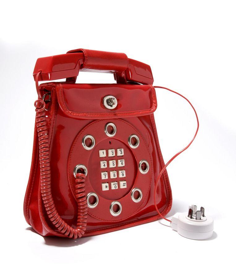 Telefoontas Beeld Tassenmuseum Hendrikje