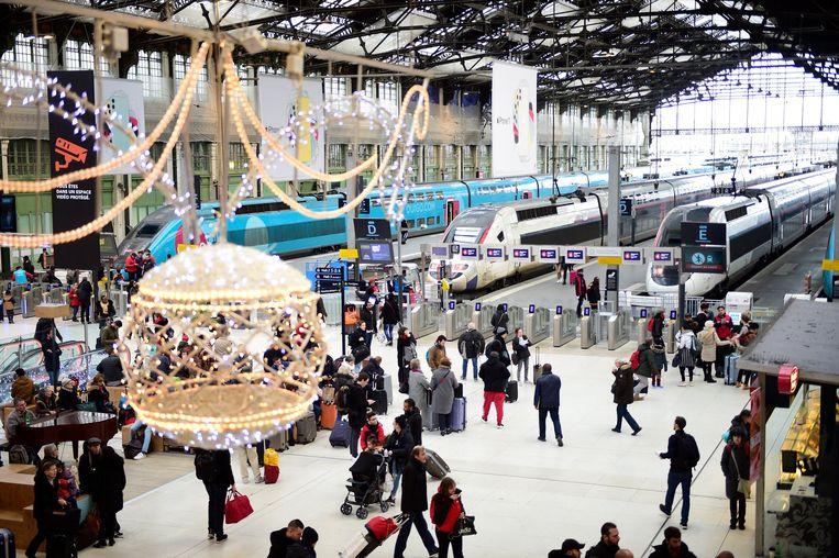 Het station van Lyon.
