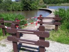 Weer onveilige brug in Gramsbergen afgesloten