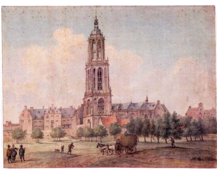De Cuneratoren in Rhenen, geschilderd door J.P. Saenredam.