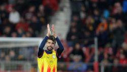 Geen Xavi, wel Piqué: Catalonië klopt Venezuela in aparte vriendenmatch