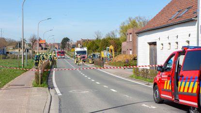 Pedestraat in Vlezenbeek afgesloten na gaslek