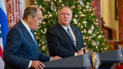 """Pompeo waarschuwt Moskou voor """"onaanvaardbare"""" inmenging bij verkiezingen"""