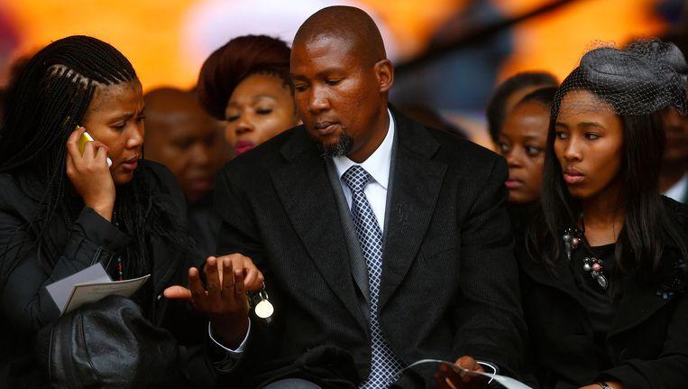 Mandela's oudste kleinzoon, Mandla Mandela. Beeld reuters