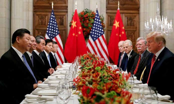 Archive d'illustration (le président chinois Xi Jinping, premier à gauche)