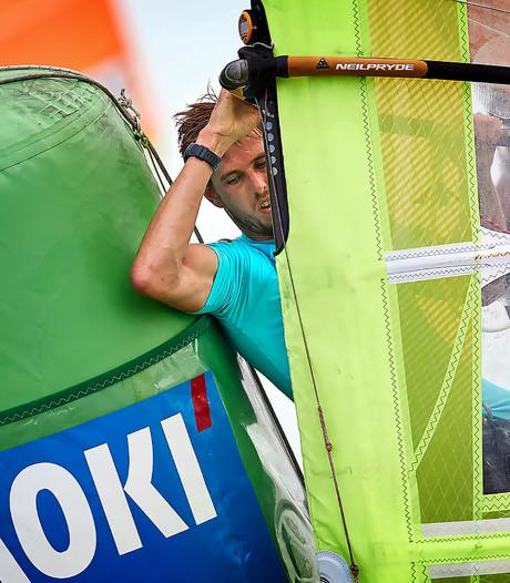 Van Rijsselberghe en De Geus plaatsen zich voor medalrace