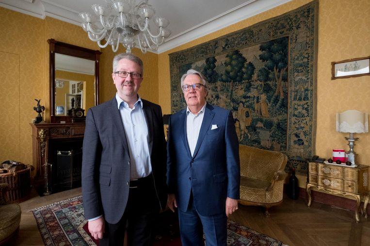 Patrick De Greef en Jean-Pierre Van Boxelaer.