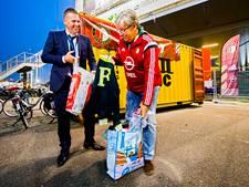 'Mijn Feyenoordshirts, die krijgen ze niet. Sorry'