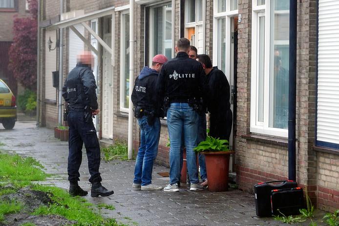 In april hield de politie al twee EBN-beveiligers aan als verdachten van de kluisjesroof, onder wie een man uit Roosendaal. © Peter van Trijen/Pix4profs