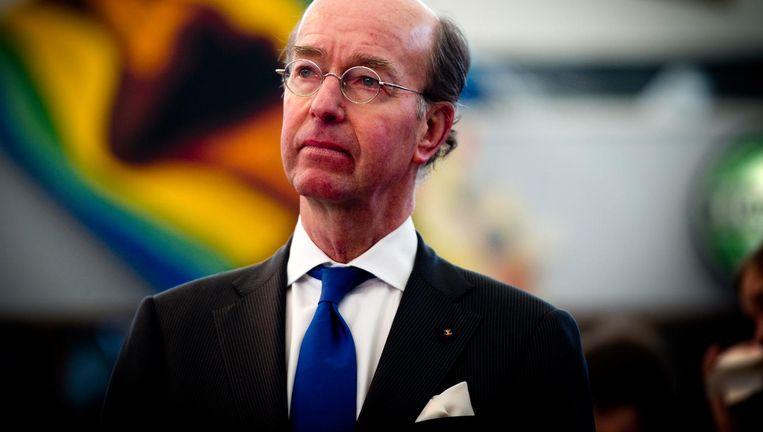 Burgemeester Eenhoorn heeft gesprekken gevoerd met diverse collega's uit de regio ten zuiden van Amsterdam Beeld anp