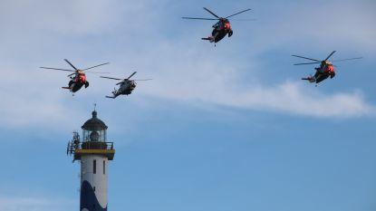 Sea Kings scheren laatste keer samen door luchtruim
