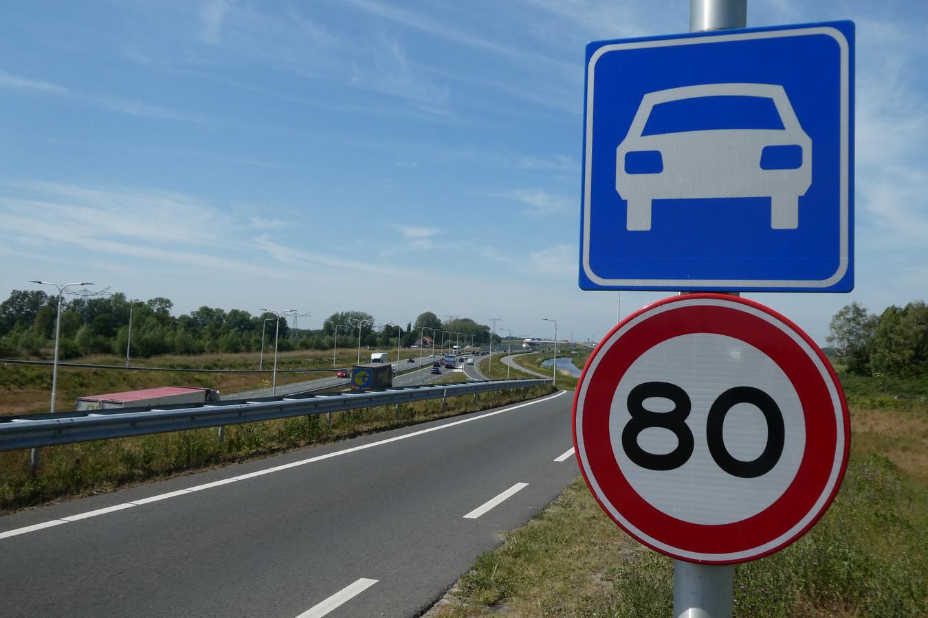 Als het aan de PVV ligt wordt 80 km per uur 100 km per uur op de N279