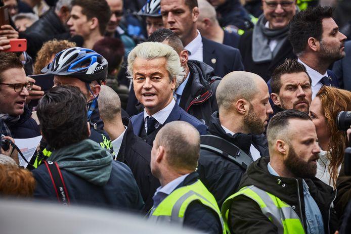 Foto ter illustratie. De verdachte zou niet tot de directe beveiligers van Wilders hebben behoord.