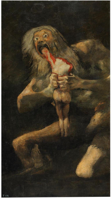 'Die nigga was door het lood in zijn verf helemaal koekoe geworden en heeft ze gemaakt in een tochtig, vervallen pand.' Beeld Collectie Het Prado Museum Madrid