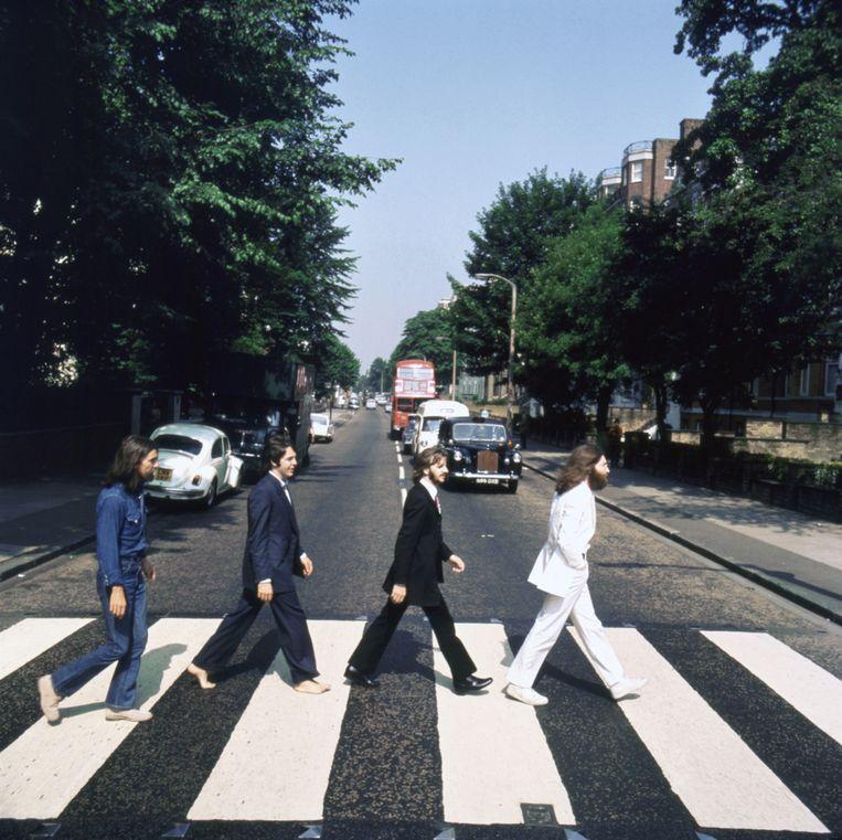 De cover van Abbey Road