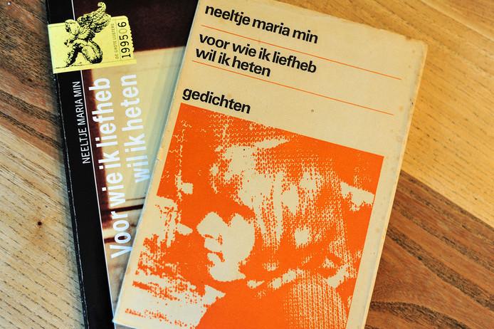 Ze liggen al in de bibliotheek in Wijhe, de dichtbundels van Neeltje Maria Min. Donderdag 17 mei komt ze naar het tweede poëziefestival in de Capellenborg in Wijhe.