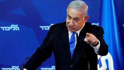 Netanyahu  belooft annexatie van Westelijke Jordaanoever als hij herverkozen wordt