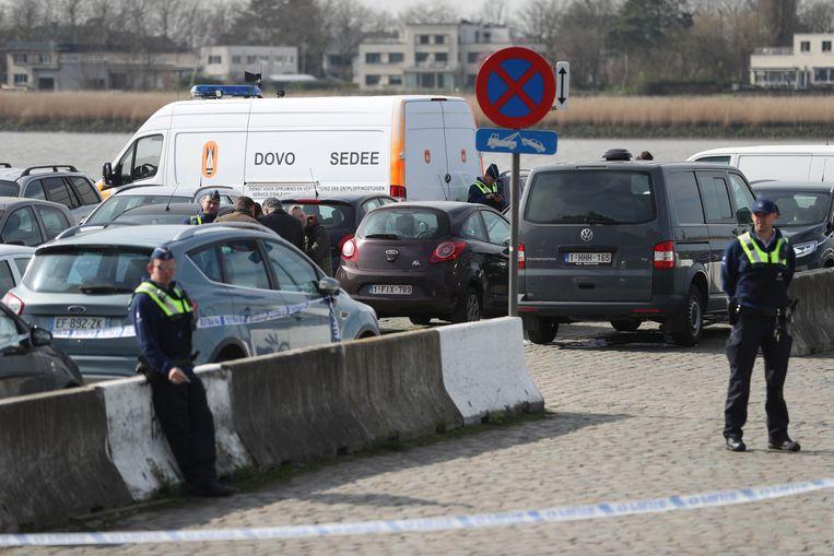 Het snelleresponteam (SRT) vond de rode Citroën van Mohamed R. uiteindelijk terug op de Scheldekaaien.