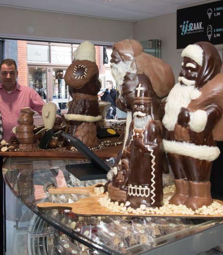 Chocola uit Vierhouten moet Harderwijkse ijssalon helpen de barre coronawinter door te komen