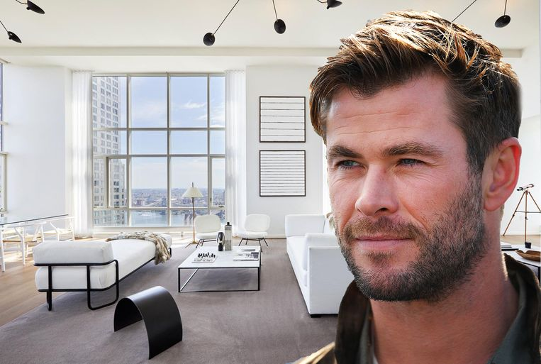 Chris Hemsworth in New York
