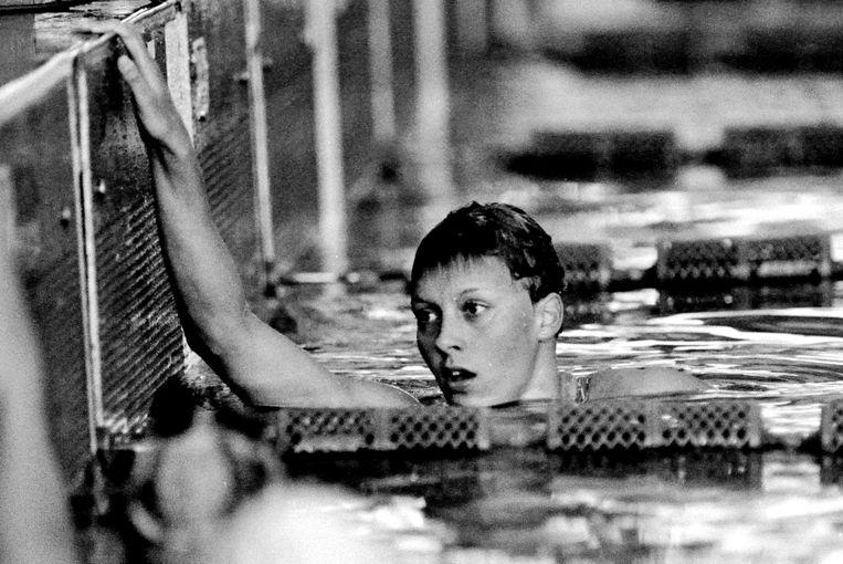 Reggie de Jong in 1980, het jaar van de Olympische Spelen in Moskou. Beeld Soenar Chamid / HH