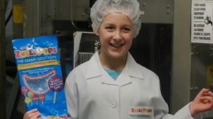 7-jarige Alina wilde mooie tanden en ontwikkelde gezonde snoep, nu is ze 13 jaar en miljonair