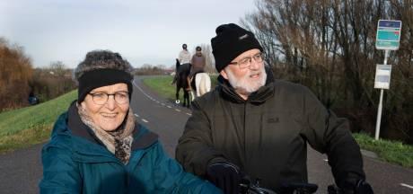 Kilometervreters langs de rivier genieten van vierde kerstdag: 'Zo dicht bij huis is het zo mooi'
