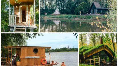 Cabins of tiny houses in eigen land: reisexpert selecteert zeven originele overnachtingsplekjes