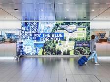 Schiphol toont Delfts blauwe vazen uit tuinen van Paleis Het Loo