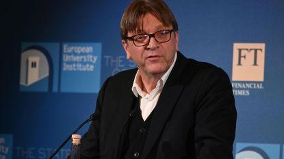 """Verhofstadt daagt Salvini uit voor debat: """"Mensen hebben het recht om uw duivels plan te kennen"""""""